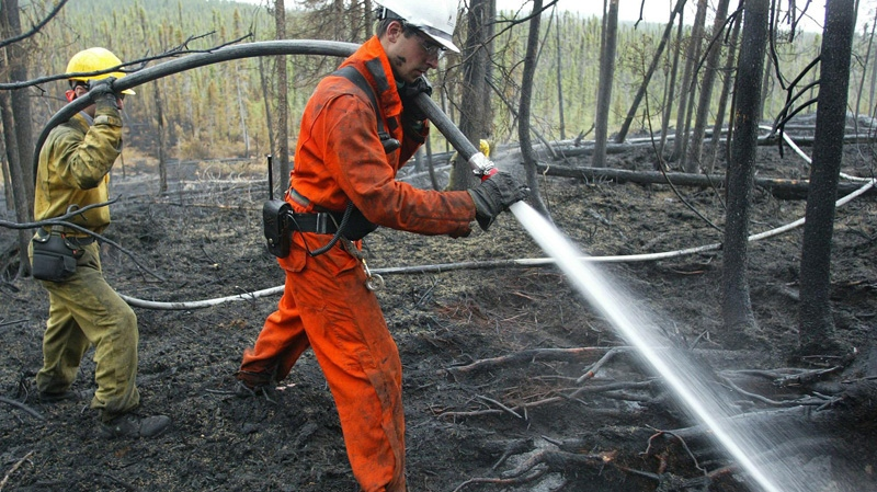Conditions are 'extreme' for forest fires