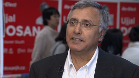 Former premier Ujjal Dosanjh is the Liberal candidate in Vancouver South. April 26, 2011. (CTV)