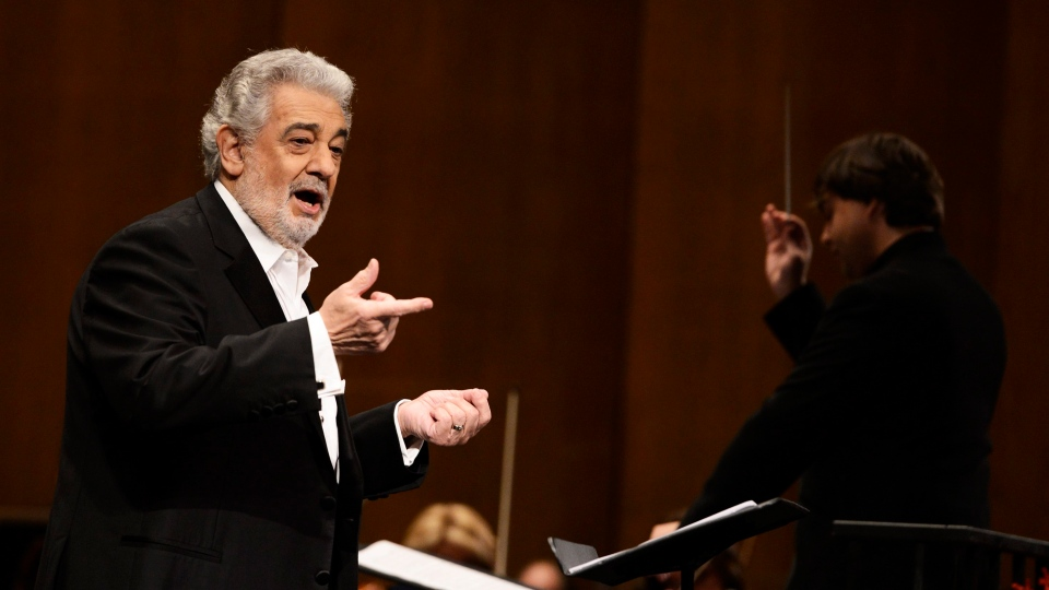 Placido Domingo performs at the Dorothy Chandler Pavilion in Los Angeles on June 7, 2013 (AP / Invision / Dan Steinberg)