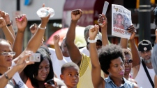 Americans protests against Zimmerman verdict