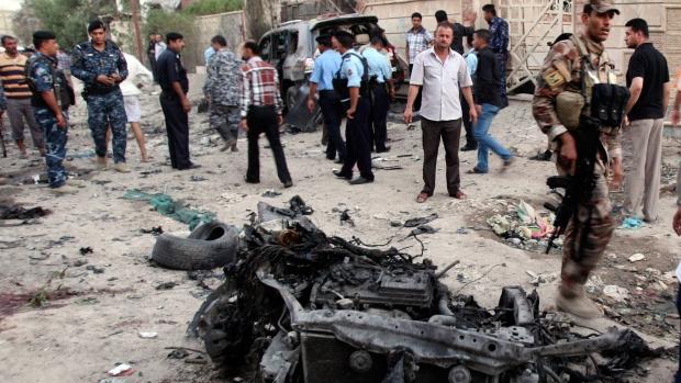 Blasts kill at least 28 in Iraq