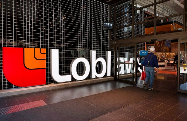 A customer enters Loblaws' flagship store on Carlton Street in Toronto on Thursday, May 2, 2013. (The Canadian Press/Aaron Vincent Elkaim)