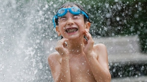 Environment Canada says there should be plenty of days to enjoy fun in the water this summer. The weather agency is predicting above normal temperatures for most of the country. (File/THE CANADIAN PRESS)