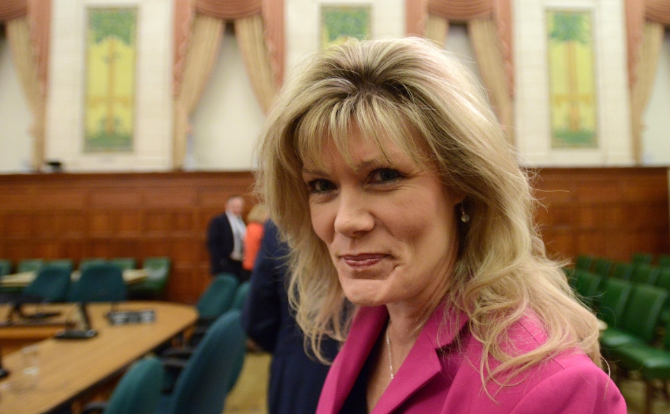 Conservative MP Shelly Glover arrives at a committee meeting on Parliament Hill in Ottawa on Thursday June 6, 2013.  Glover was named Minister of Canadian Heritage and Official Languages. (Sean Kilpatrick / THE CANADIAN PRESS)