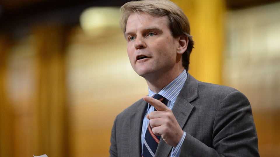 Conservative MP Chris Alexander responds to a question during question period in the House of Commons on Parliament Hill in Ottawa on Tuesday, June 18, 2013. (Sean Kilpatrick / THE CANADIAN PRESS)