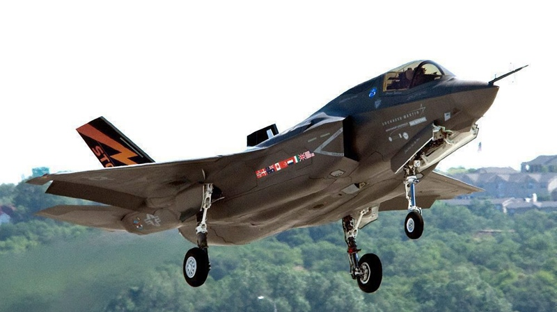 A Lockheed Martin F-35 Joint Strike Fighter is shown in this undated Lockheed Martin photo.