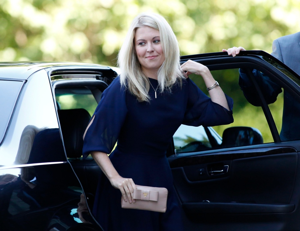 Michelle Rempel arrives for the swearing in of the federal cabinet at Rideau Hall in Ottawa on Wednesday, July 15, 2013. (Patrick Doyle / THE CANADIAN PRESS)