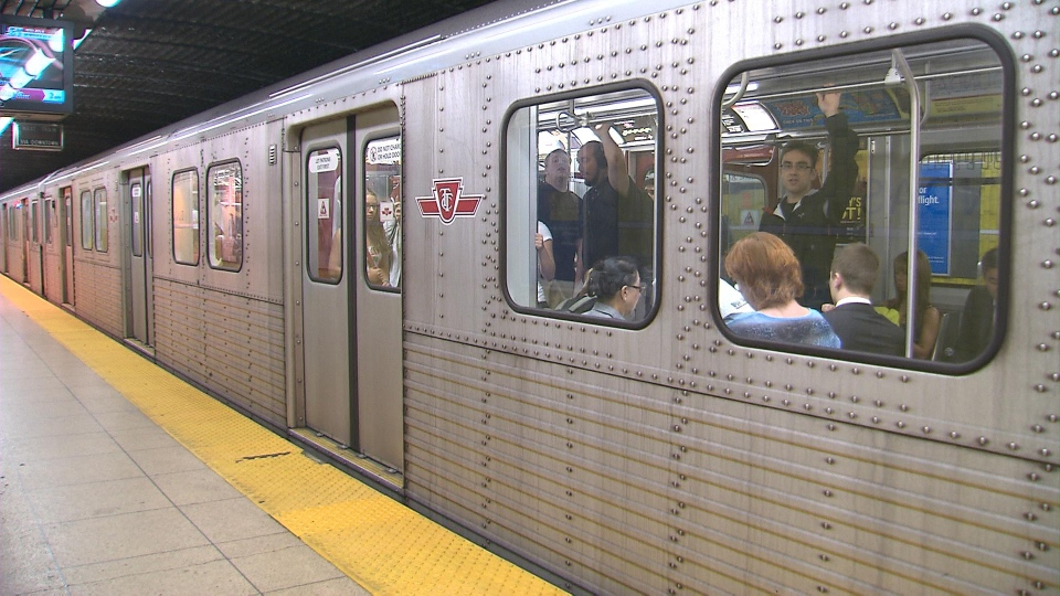 TTC subway file photo
