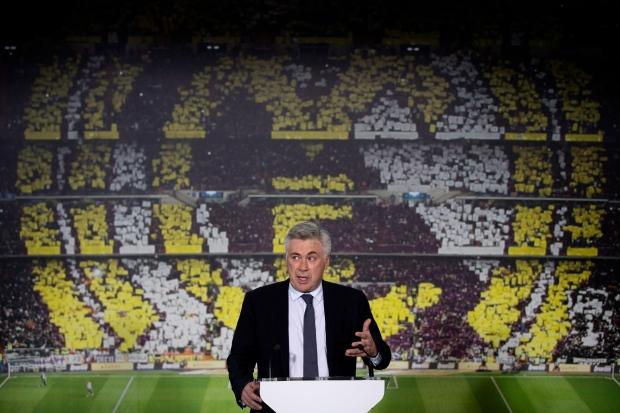 Real Madrid, coach, Carlo Ancelotti