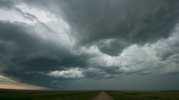 Thunderstorms lightning