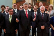 PM Harper unveils new cabinet after shuffle