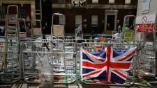 Royal baby watch in London