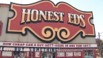 Honest Ed's opened at Bloor and Bathurst streets in 1948.