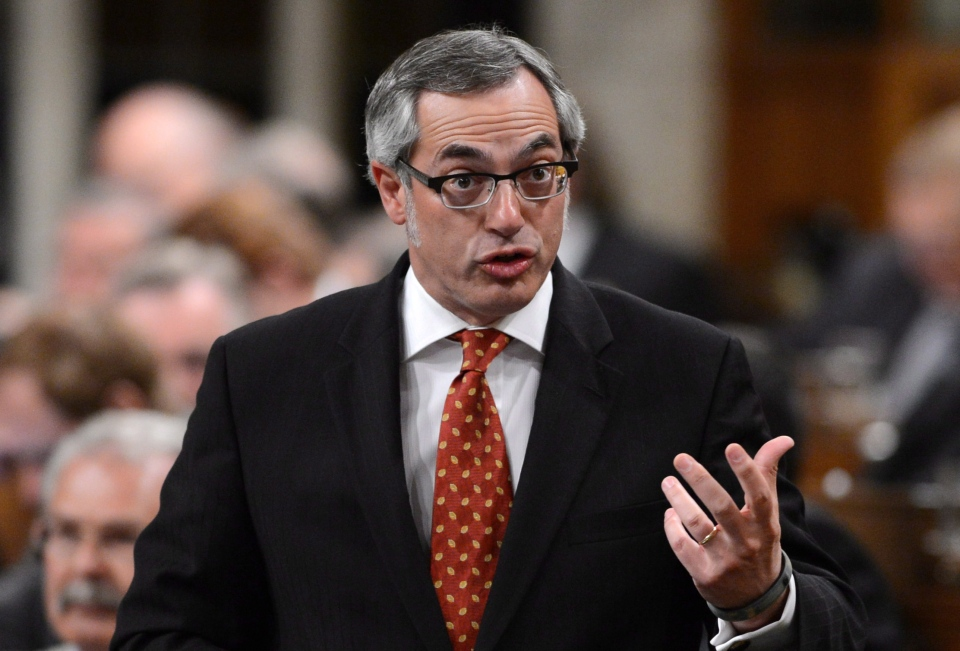 Treasury Board President Tony Clement responds to a question during question period in the House of Commons on Parliament Hill in Ottawa on Monday, June 3, 2013. (Sean Kilpatrick / THE CANADIAN PRESS)