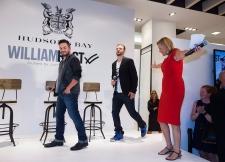 Justin Timberlake, centre, and Trace Ayala