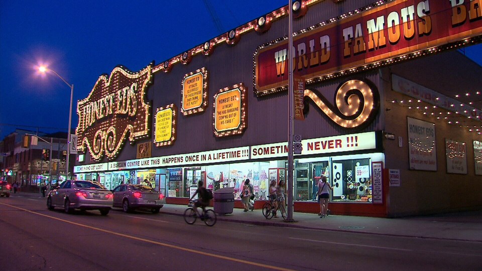 Iconic Toronto discount store up for sale