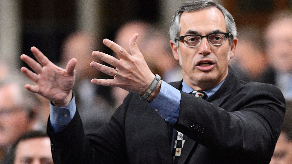 Treasury Board President Tony Clement responds to a question during question period in the House of Commons on Parliament Hill in Ottawa on Wednesday, June 12, 2013. (Sean Kilpatrick / THE CANADIAN PRESS)