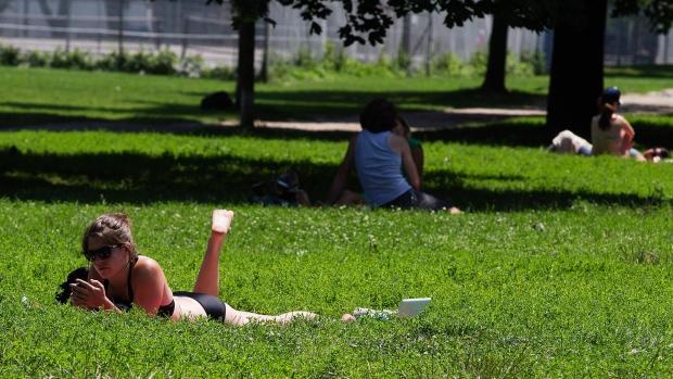 Toronto summer extreme heat