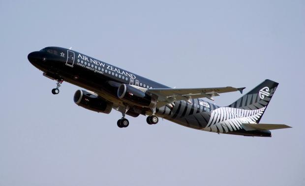 Air New Zeland flight