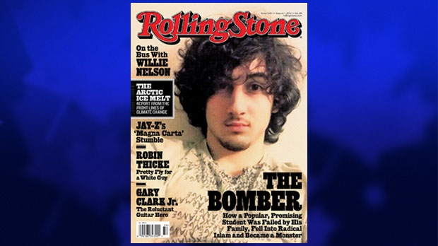 In this magazine cover image released by Wenner Media, Boston Marathon bombing suspect Dzhokhar Tsarnaev appears on the cover of the Aug. 1, 2013 issue of 'Rolling Stone'