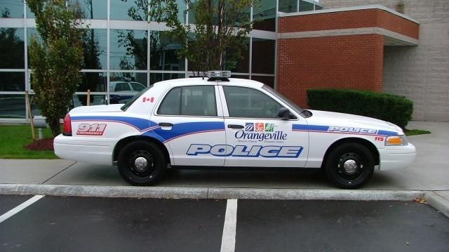 Orangeville Police Service Cruiser