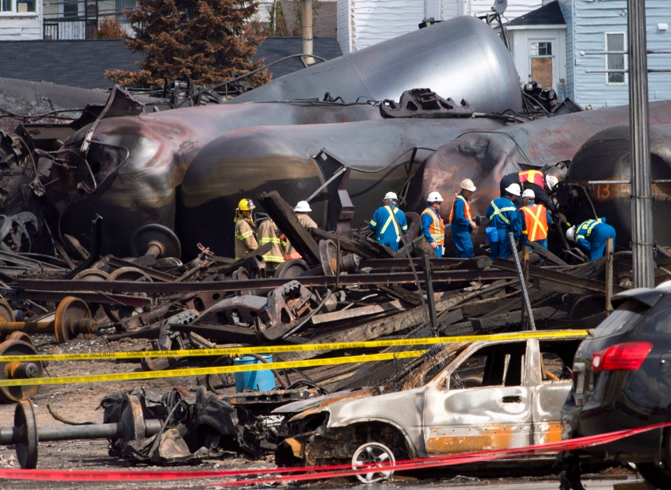 Work continues in Lac-Megantic