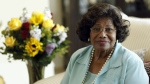 Katherine Jackson poses for a portrait in Calabasas, Calif., Wednesday, April 27, 2011. (AP / Matt Sayles)