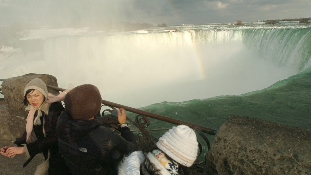 Storm shifts boat trapped for 101 years near edge of Niagara Falls