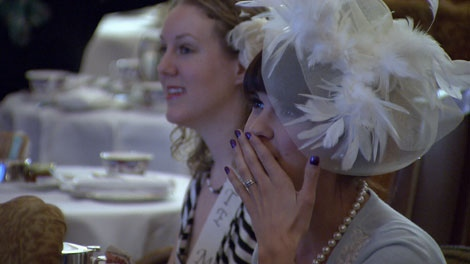 More than 100 die-hard B.C. royal watchers descended on Vancouver�s Fairmont Hotel to watch the live broadcast of the nuptials of Prince William and Kate Middleton at 3 a.m. on April 29, 2011. (CTV)