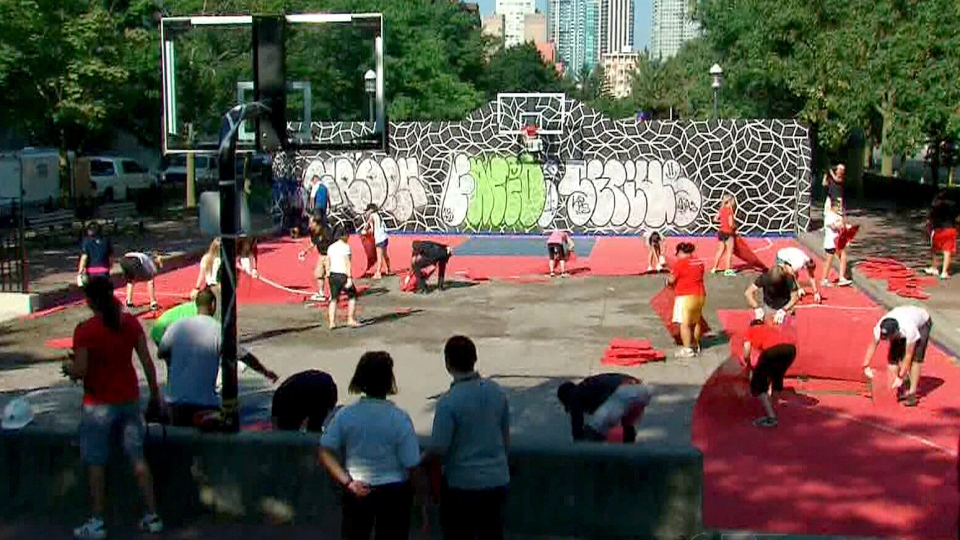 Police To Repair Basketball Court Damaged In Pursuit Ctv News Toronto