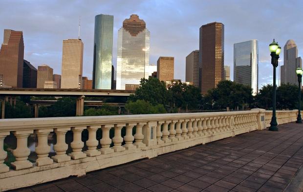Houston skyline generic