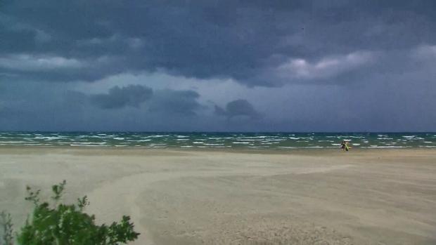Wasaga Beach storm warning