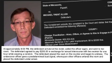 Mike Allen Charged