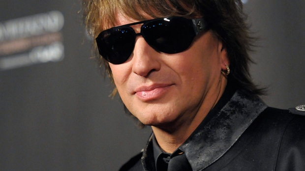 Richie Sambora arrives at the WTB Spring 2011 Fashion Show at Sunset Gower Studios in Los Angeles on Sunday, Oct. 17, 2010. (AP / Dan Steinberg)