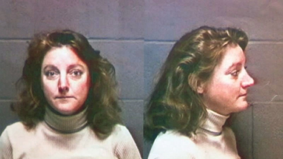 Fugitive Jean Terese Keating, is pictured in a 1997 photo is shown in a handout photo by Oregon State Police. A U.S. woman who has been wanted in Oregon for 15 years in a fatal car crash has been arrested in Manitoba. (HO / THE CANADIAN PRESS)
