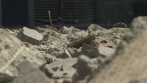 CTV BC: Rubble Art baffles pedestrians