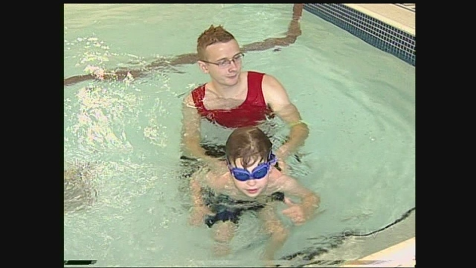 Scary swimming incident a life lesson for young boy