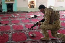 Iraqi army soldier