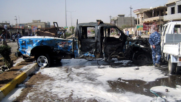 46 killed in wave of Baghdad car bombings