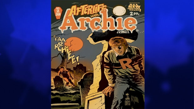 New Archie series to feature zombies
