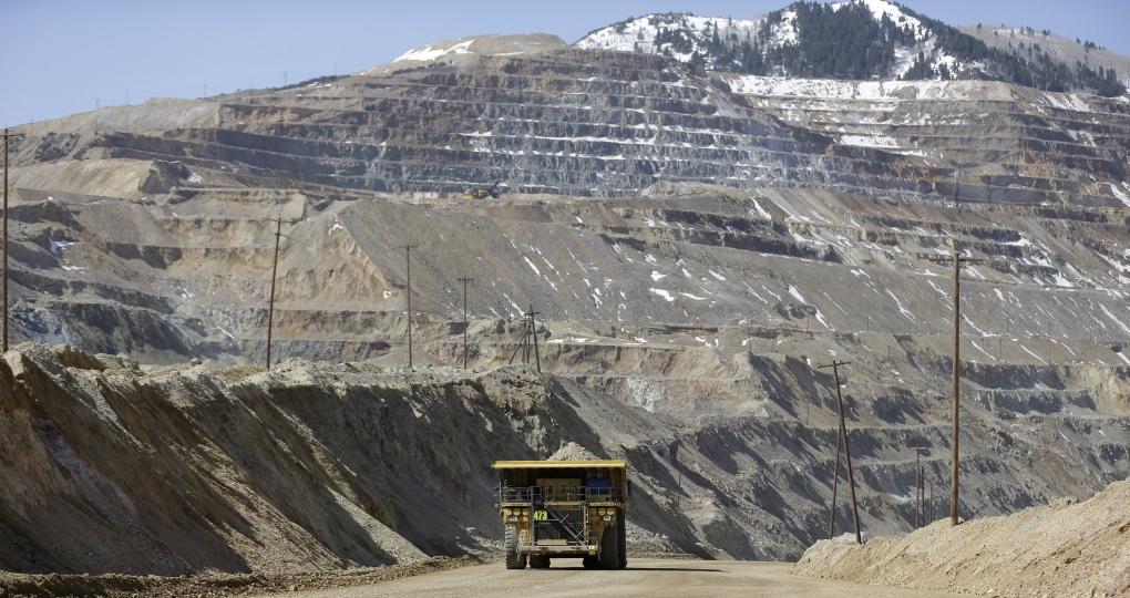 Mining truck in Utah