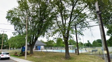 pool at paul VI pool boucherville
