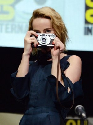 Jena Malone at Comic-Con