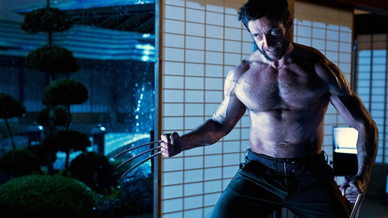 Hugh Jackman as Logan/Wolverine in a scene from 20th Century Fox's 'The Wolverine'