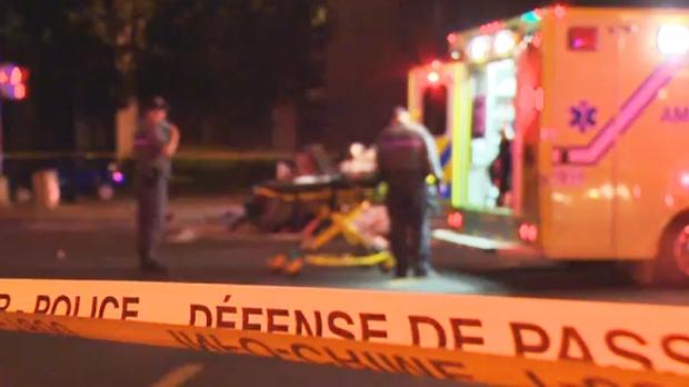 montreal ambulance generic night
