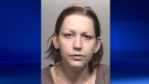 Christine Allen, 32, is seen in this photo provided by Waterloo Regional Police.