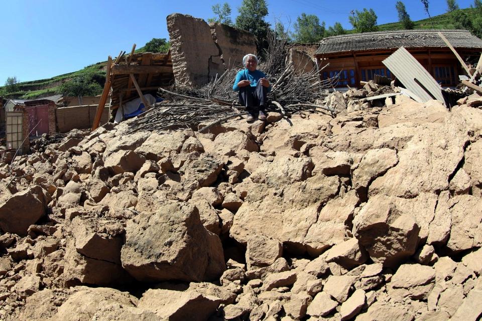 China earthquake kills at least 75