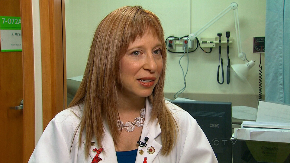 Toronto-based cardiologist Dr. Beth Abramson speaks with CTV News.