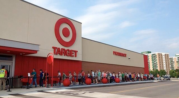 Target mania in Kingston