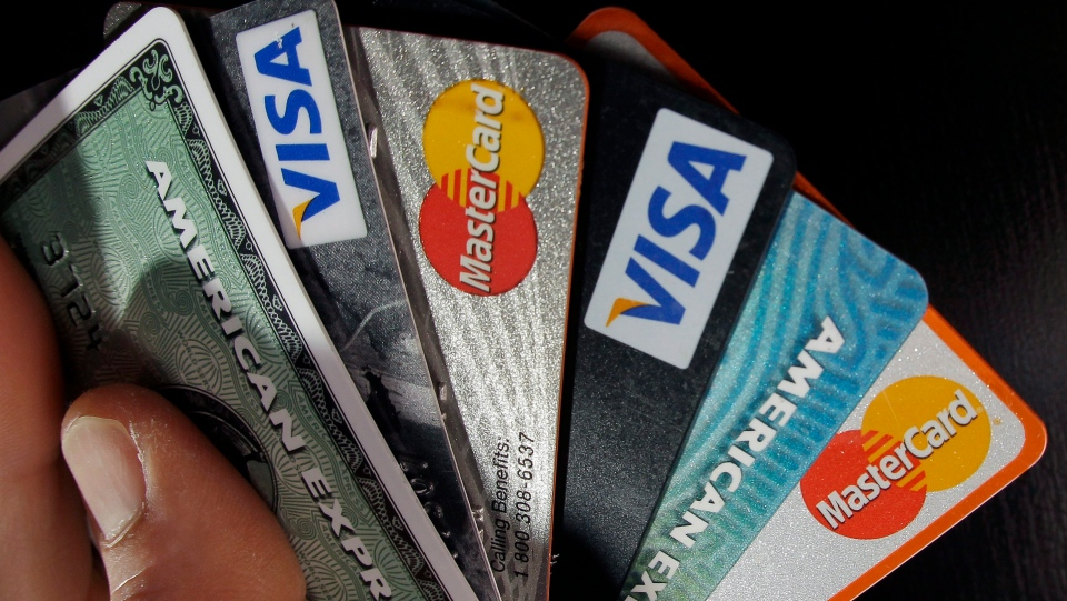 Credit cards are seen in this file photo. (AP / Elise Amendola)